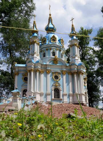St. Andrew`s Church in Kiev №49734
