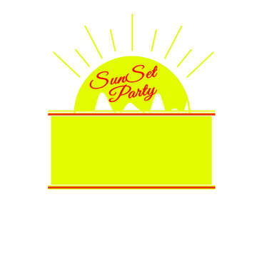 Sunset Party card №49677