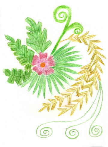 Fern flower №49256