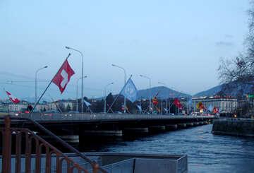 Great Bridge in Geneva №49964