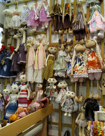 Dolls toys clothes №49048