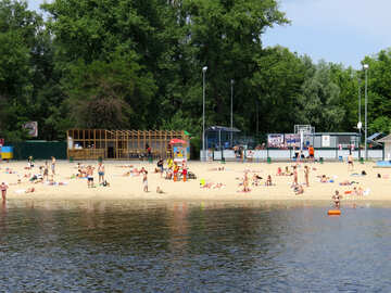 The beach in Kiev №49921