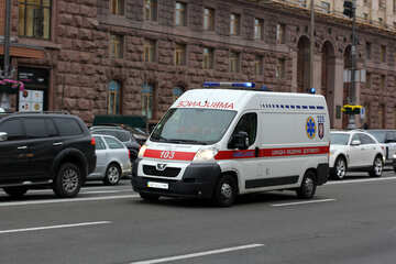 Ambulance car №49315