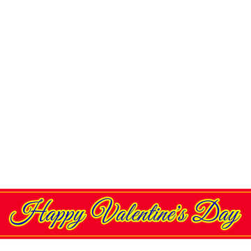 Lettering Happy Valentine`s Day №49669