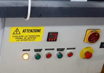 Machine control panel №49494