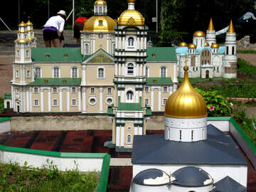 The model of the cathedral №49849
