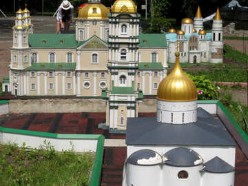 The model of the cathedral №49850