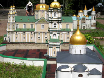The model of the cathedral №49851
