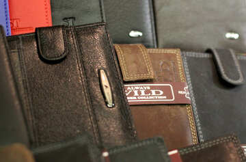 Leather wallets №49167