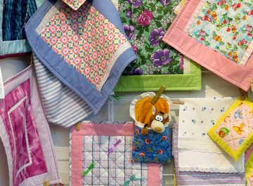 Napkins quilt squares №49064
