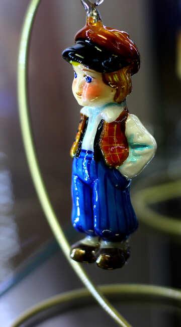 Сказочний мальчик декор для нового года №49544