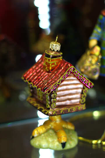 New Year fairytale toy house from a fairy tale №49537