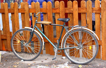 Old bicycle №49445