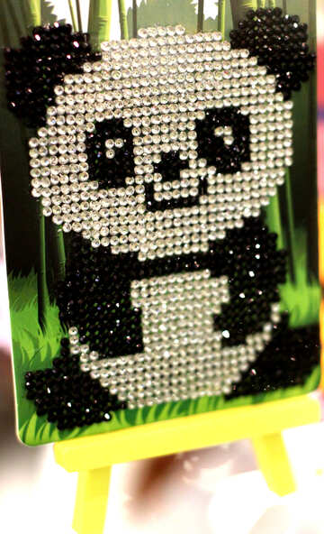 Panda decor art №49128