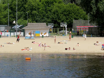 Beach on the river №49699