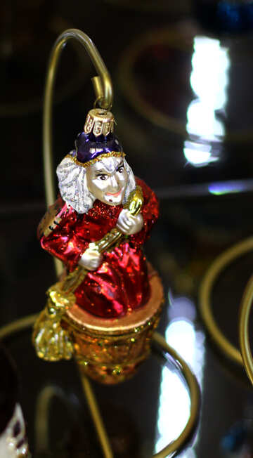 Beautiful Christmas tree toy handmade №49538