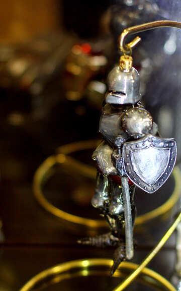 Cavaliere della decorazione di Natale №49525