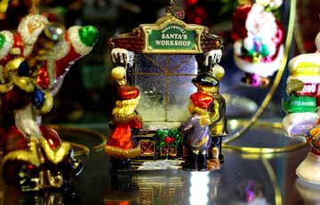 Сказочный Рождественский городок №49526