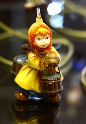 Сказочная девочка украшения для елки №49548