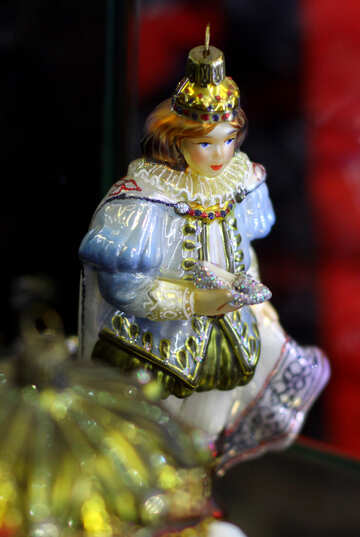 Ornaments for the Christmas tree prince №49579