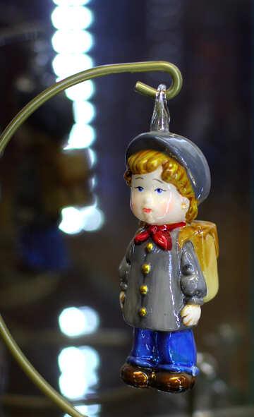 Schoolboy Christmas Decor №49543