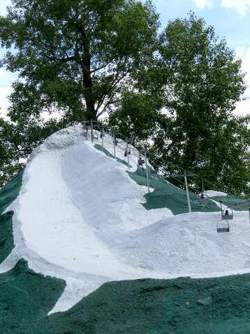 Model of a ski lift №49819