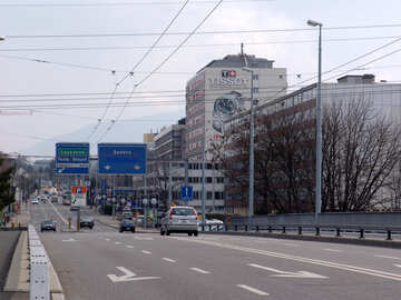 Calle del automóvil en Suiza №49940
