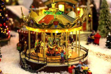 Toy carousel №49594