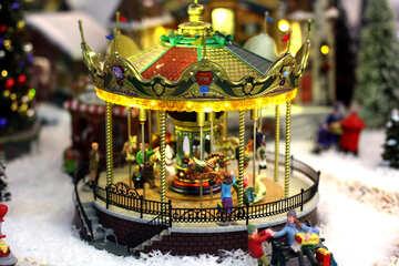 Carousels in winter №49595