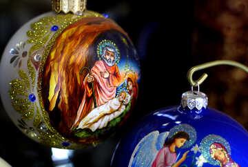 Рождественское украшение №49516