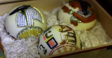Christmas decorations in Egyptian style №49510
