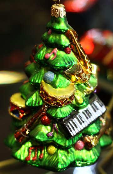 Christmas Toy Music Tree №49532
