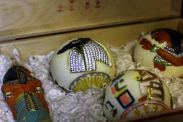 Egyptian Christmas balls №49511