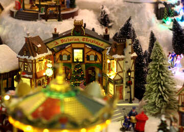 Fairyland Christmas landscape №49597