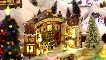 Winter village from a fairy tale №49590