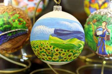 Ukrainian Christmas tree toy №49569