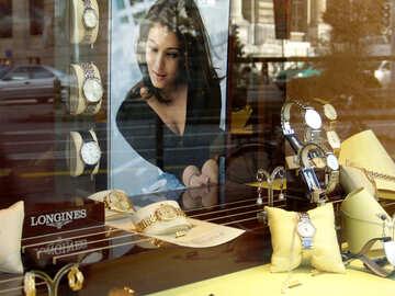 Shop window Women`s swiss watches №49976