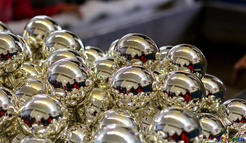 Boules de Noël brillantes №49483