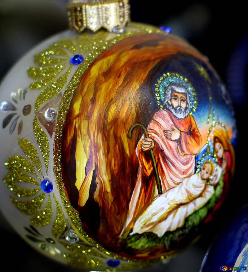 Елочное украшение на рождество №49515