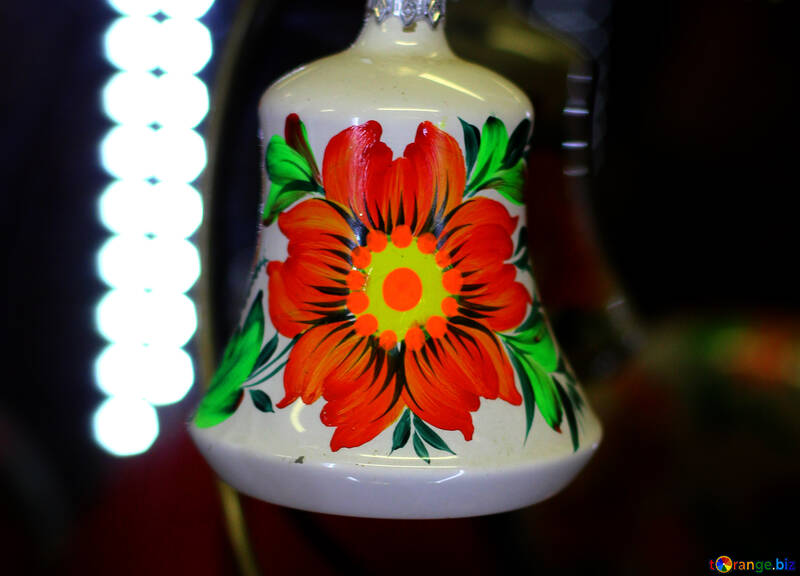 Красный рождественский цветок №49564