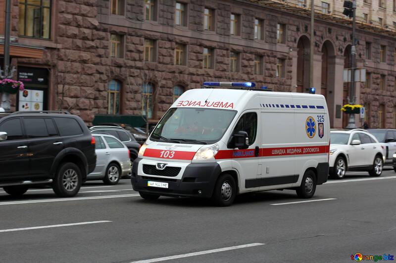 Ambulance car №49315