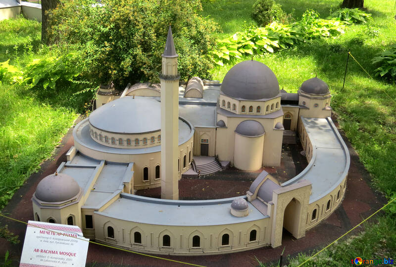 Model of the mosque №49899