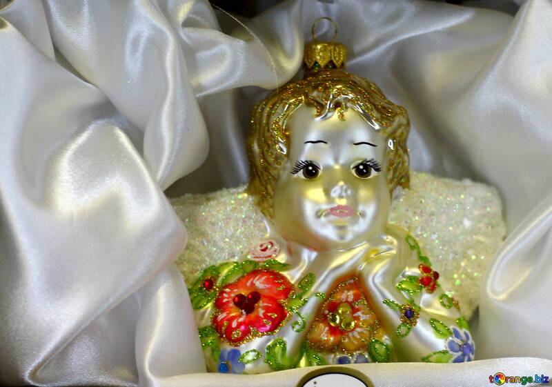 Christmas doll №49573