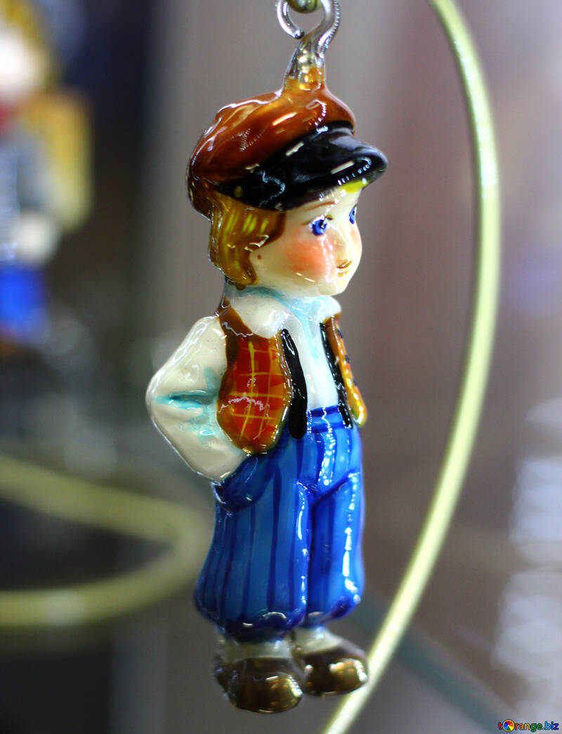 Christmas tree decoration boy from a fairy tale №49545