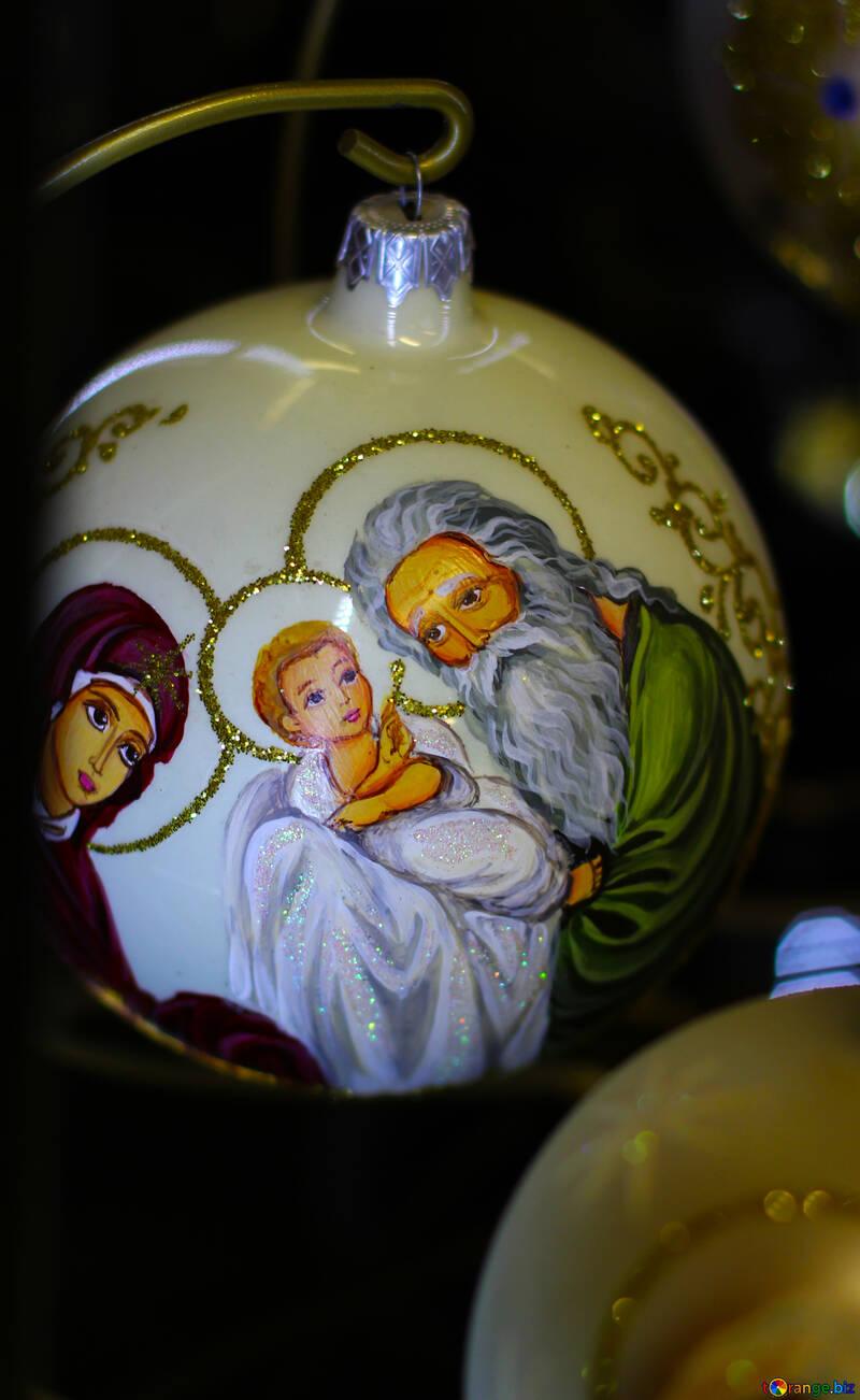 Christmas ball for a tree №49514