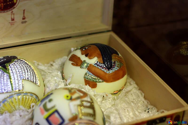 Ёлочные украшения из Египта №49512
