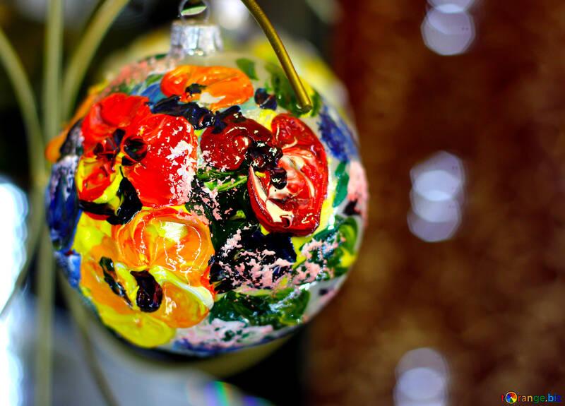 Designer Christmas tree decoration №49517