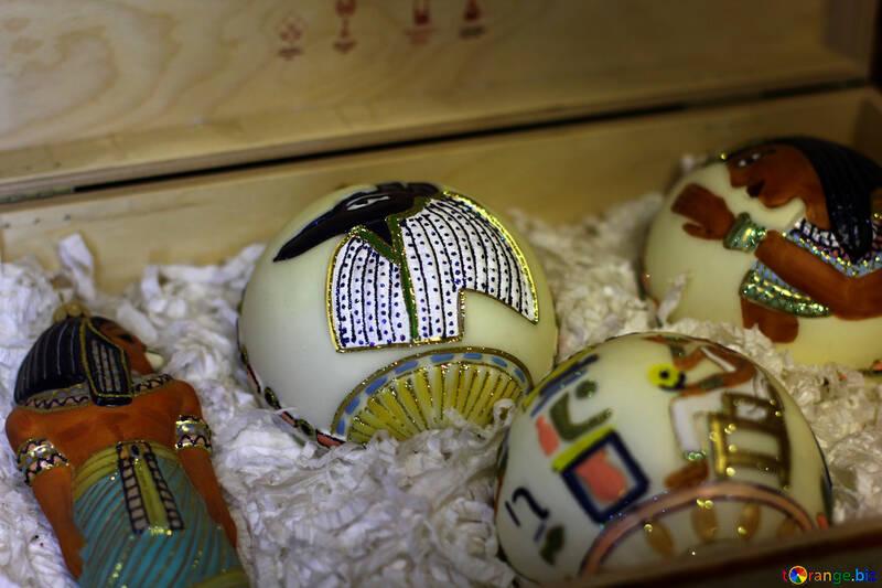Египетские новогодние шары №49511
