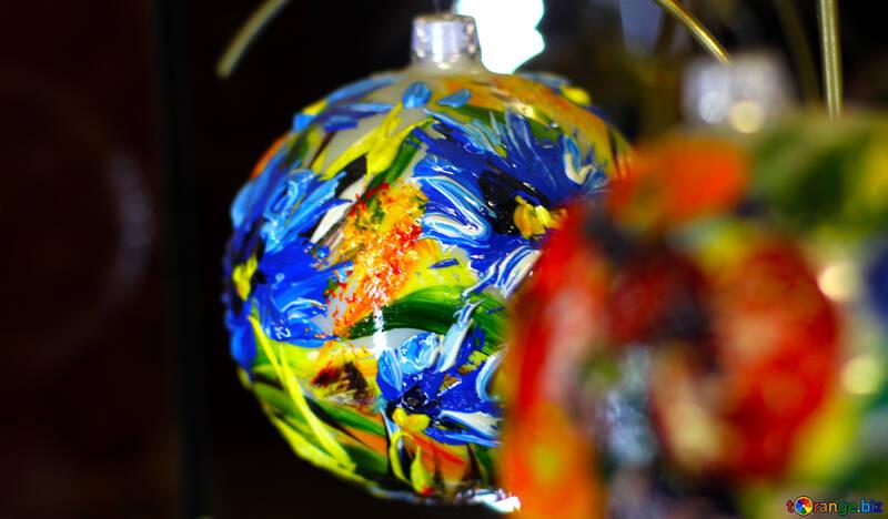 Photo avec des décorations de Noël №49519