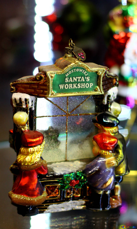 Домик Санта Клауса №49528